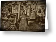 Harpers Ferry General Store Greeting Card by Bill Cannon