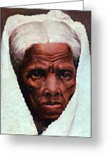 Harriet Tubman, African-american Greeting Card by Photo Researchers