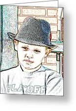 Hat Of A Hero Greeting Card by Lynn Reid