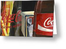Have A Coke... Greeting Card by Rob De Vries