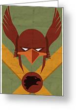 Hawkman Greeting Card by Michael Myers