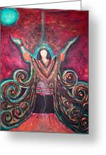 Healing Energy Greeting Card by NARI - Mother Earth Spirit