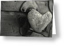 Heart Rock Greeting Card by Toni Hopper