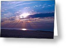 Heavenly Skies Greeting Card by Brian Wright