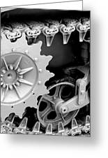 Heavy Metal In Gray Greeting Card by Valerie Fuqua