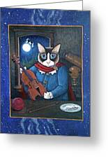Hey Diddle Diddle Greeting Card by Fairy Tails Portraits