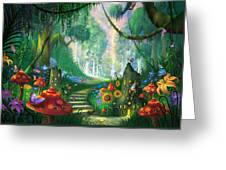 Hidden Treasure Greeting Card by Philip Straub