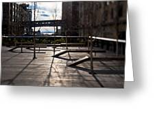High Line Park Greeting Card by Eddy Joaquim