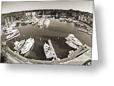 Hilton Head Harbor Town Yacht Basin 2012 Greeting Card by Dustin K Ryan