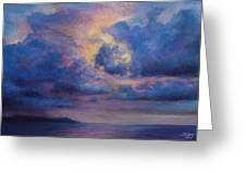 His Glory Greeting Card by Susan Jenkins