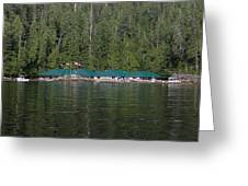 Hoiss Point Lodge #2 Greeting Card by Nootka Sound
