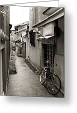 Home In Kyoto Greeting Card by Jessica Rose