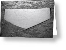 Home Plate Greeting Card by Shawn Wood