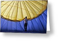 Hot Air Balloon - 11 Greeting Card by Randy Muir