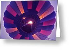Hot Air Balloon - 7 Greeting Card by Randy Muir