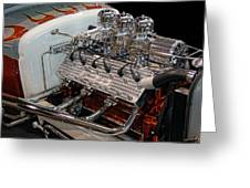 Hot Rod Lincoln Greeting Card by Bill Dutting