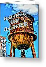 House Of Blues Orlando Greeting Card by Corky Willis Atlanta Photography