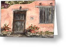 House On Delgado Street Greeting Card by Sam Sidders