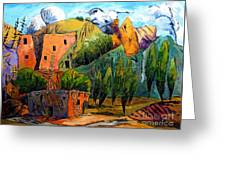 Hovenweep The Penthouse  Greeting Card by Charlie Spear