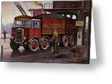 Hudsons Coal. Greeting Card by Mike  Jeffries