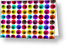 Hypnotized Optical Illusion Greeting Card by Sumit Mehndiratta