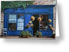 I Cappelli Gialli Greeting Card by Guido Borelli