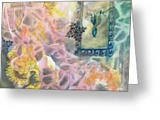 I Sense What We Greeting Card by Arlissa Vaughn