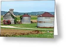 Ilini Farm Greeting Card by Marty Koch