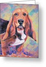 I'm All Ears Ears Greeting Card by Billie Colson