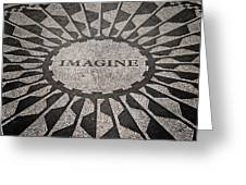 Imagine Greeting Card by Benjamin Matthijs