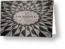 Imagine Greeting Card by Benjamin Matthijs