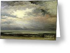 Immensity Greeting Card by Gustave Courbet