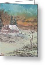 Impressions In Oil - 3 Greeting Card by Bill Turck