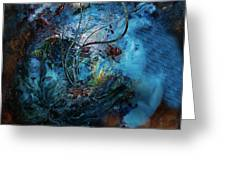 In The Deep Six Greeting Card by Patricia Motley