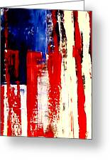 Independence Day Greeting Card by Charles Jos Biviano