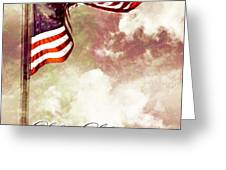 Independence Day USA Greeting Card by Phill Petrovic