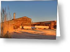Industrial Site 1 Greeting Card by Douglas Barnett