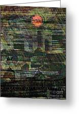 Industrial Sun Greeting Card by Andy  Mercer