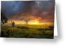 Infinite Oz Greeting Card by Philip Straub