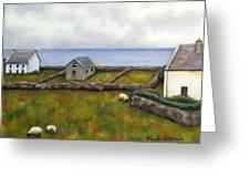 Inishmore Island Greeting Card by Brenda Williams