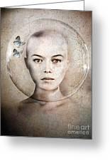 Inner World Greeting Card by Photodream Art
