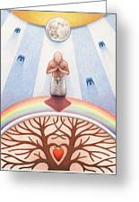 Intercessory Circle Greeting Card by Amy S Turner