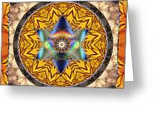 Interspectra Greeting Card by Bell And Todd