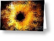 Iris Greeting Card by Michael Garyet