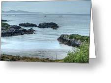 Irish Tidal Pool Greeting Card by Douglas Barnett