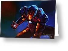 Iron Man Greeting Card by Paul Meijering