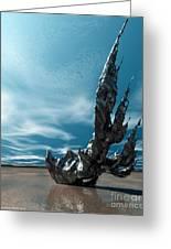 It Fell To Earth Greeting Card by Sandra Bauser Digital Art