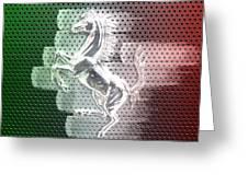 Italian Icon Greeting Card by Andrea Barbieri