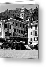 Italian Riviera Greeting Card by Corinne Rhode
