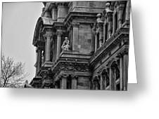 It's In The Details - Philadelphia City Hall Greeting Card by Bill Cannon